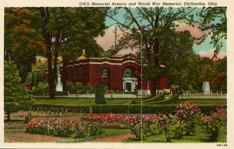 OH - Chillicothe. National Guard Armory and World War Memorial