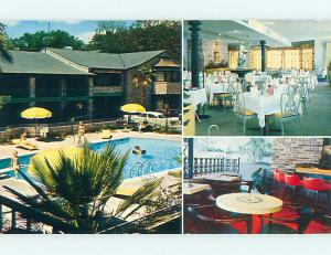 Unused Pre-1980 POOL & TOWN HOUSE MOTEL & RESTAURANT Mobile Alabama AL u4958