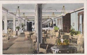 Florida Sebring Kenilworth Lodge Lobby 1930 Curteich