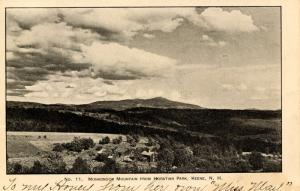 NH - Mt Monadnock  from Horatian Park, Keene