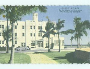 Linen OLSON HOTEL Miami Beach Florida FL HQ3629