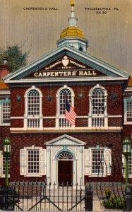 Pennsylvania Philadelphia Carpenter's Hall 1952