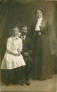 C-1910 Madeira California Samuel Crowden Family RPPC Photo Postcard 20-154