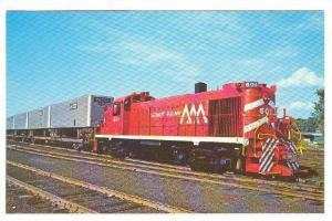 A 1600 HP Diesel of the Vermont Railway, Vermont,  40-60s