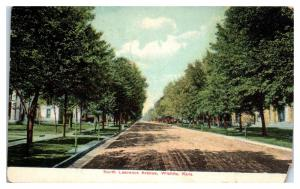 1913 North Lawrence Avenue, Wichita, KS Postcard