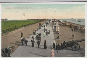 Hampshire; Clarence Esplanade, Southsea PPC 19108 PMK To Miss Akers, Camberley