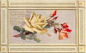 Artist Catherine Klein Postcard Old Vintage Antique Post Card Writitng on back