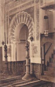 Interieur De La Mosquee, Le Machrol, Tlemcen, Algeria, Africa 1900-1910s