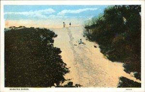 Niihau Hawaii HI Barking Sands c1920 Postcard