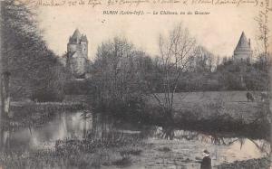 France Blain Le Chateau vu du Gravier Castle Schloss