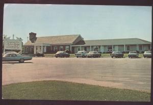 Longwood PA Dennett Square Inn Pennsylvania Motor Lodge Motel Postcard