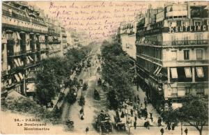 CPA PARIS 2e-Boulevard Montmartre (321957)