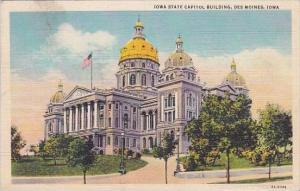 Iowa Des Moines Iowa State Capitol Building