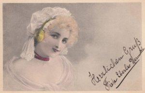 M.M.VIENNE : Female Head Portrait #5 , 1900-10s
