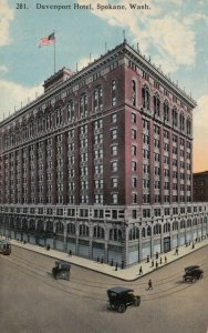 SPOKANE, Washington , 1900-10s ; Davenport Hotel