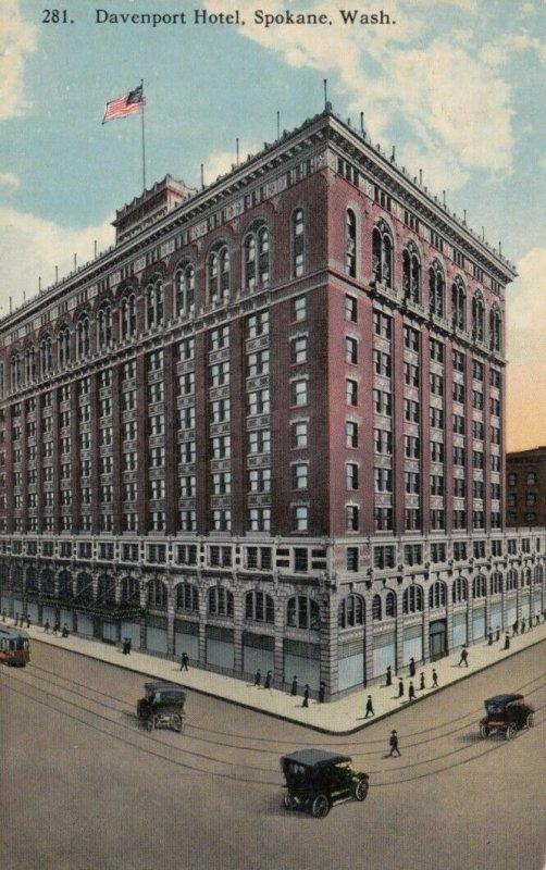 SPOKANE, Washington , 1900-10s ; Davenport Hotel