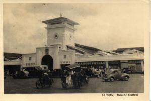 CPA Vietnam Indochine - Saigon - Marché Central (85823)