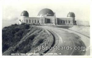 Real Photo - Griffith Park Planetarium
