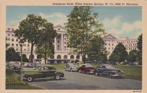 WHITE SULPHUR SPRINGS, West Virginia, 30-40s; Greenbriar Hotel, Classic Cars