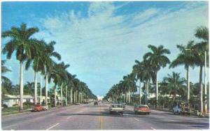 Hollywood Blvd, Hollywood By The Sea, Florida, FL, 1969 Chrome