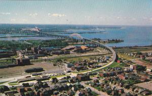 Bridge , Saulte Ste. Marie , Ontario , Canada , 40-60s