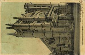 CPA MONTEREAU - faut - YONNE - la Cathédrale (147032)