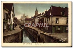Old Postcard Amiens Street Tanners