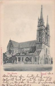 Switzerland Basel Das Muenster 1904