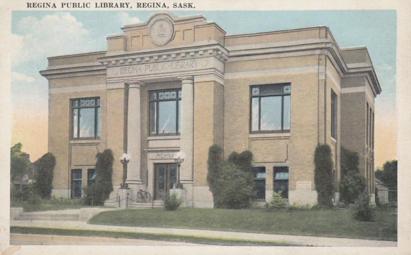 REGINA , Saskatchewan , Canada , 1900-10s ; Public Library