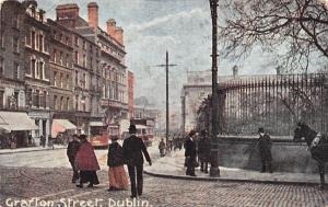Crafton Street Tram Cable Car Dublin