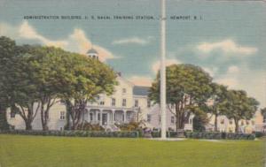 Rhode Island Newport Administration Building U S Naval Training Station 1942