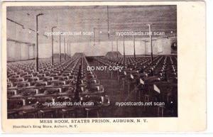 Mess Room, Prison, Auburn NY