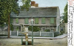 MA - Salem. Old Witch House