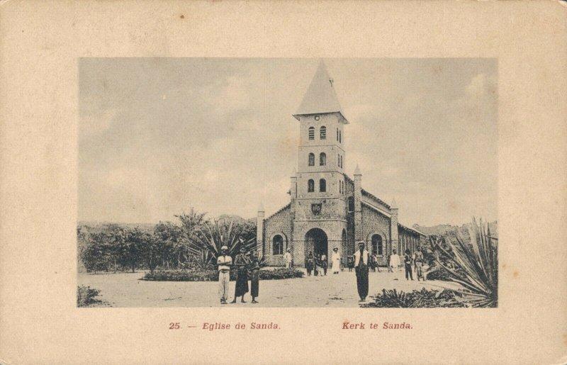 Africa Eglise de Sanda Kerk te Sanda 03.40