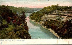 New York Rochester Genesee Gorge 1907 Tucks