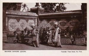 Indonesia Bali Balinese Dancers Real Photo