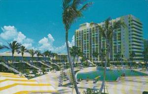Florida Miami Beach Americana Hotel and Cabana Club