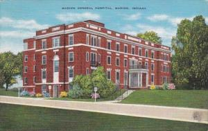 Indiana Marion General Hospital 1947