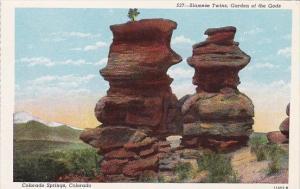Colorado Springs Siamese Twins Garden Of The Gods