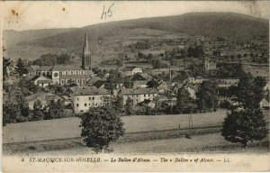 CPA St-MAURICE-sur-MOSELLE - Le Ballon d'Alsace (153683)