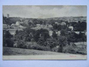 Cornwall HELSTON Panoramic View c1908 Postcard