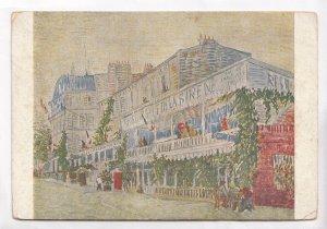 Vincent Van Gogh, Le Restaurant de la Sirene, The Siren Restaurant, Postcard