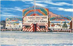 Santa Claus House, 511 Santa Claus Lane, North Pole, Alaska, AK, Chrome
