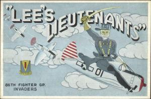 Lee's Lieutenants Robert E Lee 86th Fighter Invaders Civil War WWII Air Force