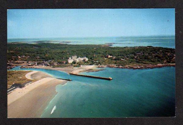 Maine Kennebunkport Me Gooch S Beach Colony Hotel Pc Hippostcard