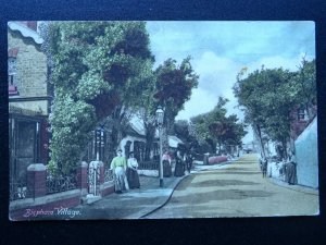 Lancashire Blackpool BISPHAM Village c1921 Postcard by Advance Series