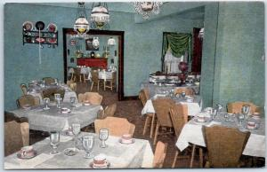 Springfield IL Postcard THE COUNTRY HOUSE Restaurant Highway 66 Roadside Linen