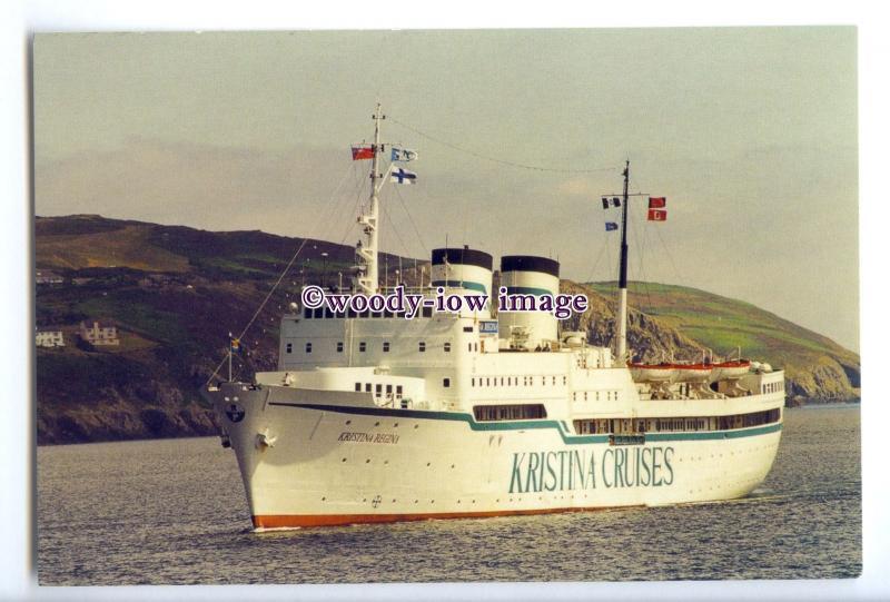 LN0598 - Kristina Cruises Liner - Kristina Regina , built 1960 ex Bore -postcard