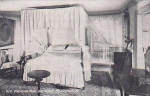 Virginia Mount Vernon Geo Washingtons Bed Room