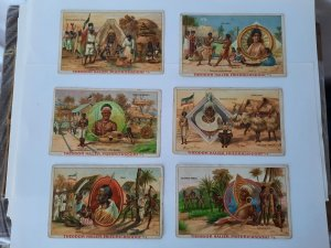 Togo Trade Cards- Advertising- German Theoder Haller - 6 pieces